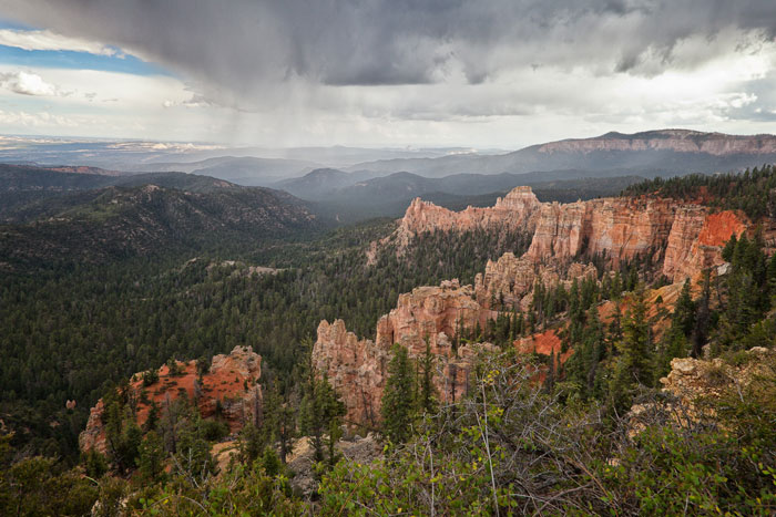 Storm Bryce Canyon National Park