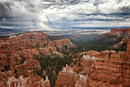 Storm and Rainbow Bryce Canyon, National Park